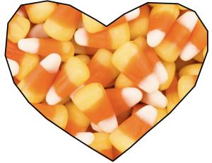 I love you, candy corn